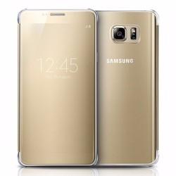 Bao da Clear View Samsung-Galaxy Note 5 màu vàng