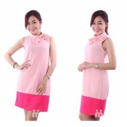Đầm suông thiết kế dễ thương ngọt ngào
