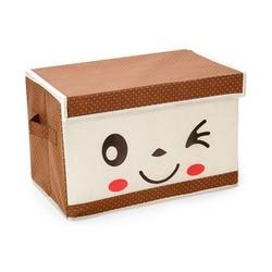 Tủ vải khung cứng mặt cười có nắp chống thấm