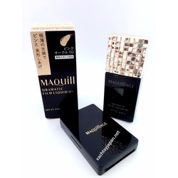 Kem nền Maquillage Dramatic film Liquid UV SPF25 PA++