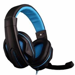 Tai nghe chụp tai kèm mic Ovan X2 Xanh dương đen - TMARK