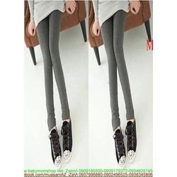 Quần legging nữ phom ôm dáng đẹp thiết kế đơn giản QL25