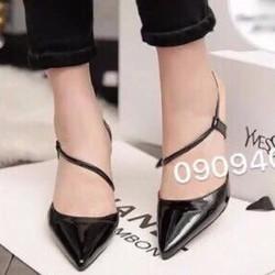 giày cao gót mũi nhọn quai kiểu 1275