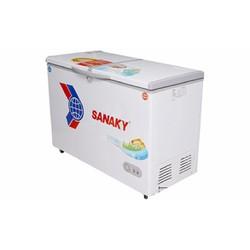 Tủ đông Sanaky hai ngăn dàn lạnh đồng