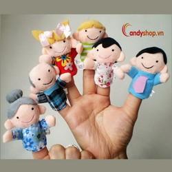 Rối ngón tay gia đình candyshop88.vn