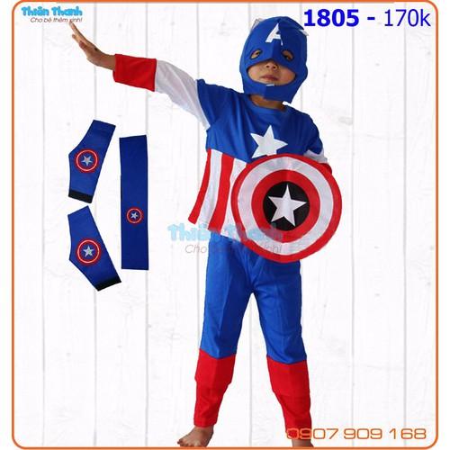 Bộ siêu nhân 7 món Captain America