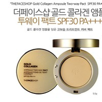 Phấn phủ Gold Collagen Ampoule Two-way Pact SPF 30+++