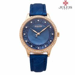Đồng hồ Hàn Quốc JULIUS nữ JU1091 Xanh huyền bí