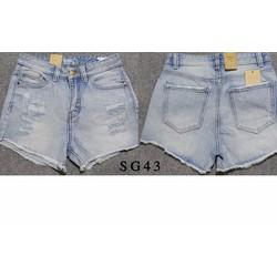 Quần Short Jean Nữ lai Rách
