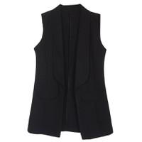 Áo khoác vest blazer nữ form dài sát nách ZENKO CS3 AO KHOAC NU 009 B