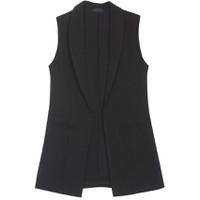 Áo khoác vest blazer nữ form dài sát nách ZENKO CS3 AO KHOAC NU 008 B