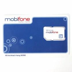 Sim 3G Mobifone miễn phí 1 năm không nạp tiền