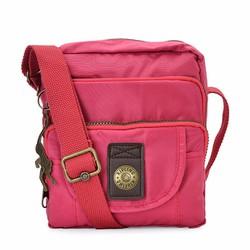 Túi đeo chéo Kipling 3 ngăn xịn màu hồng