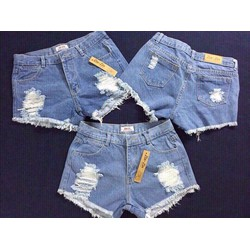 quần short jean rách cá tính