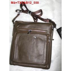 Túi đeo da ipad 7 galaxy tab phối khóa kéo năng động TXTAB12