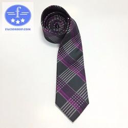 [Chuyên sỉ - lẻ] Cà vạt nam Facioshop OB01 - bản 6.5cm