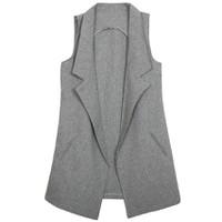 Áo khoác vest blazer nữ form dài sát nách ZENKO CS3 AO KHOAC NU 007 G