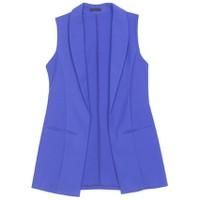 Áo khoác vest blazer nữ form dài sát nách ZENKO CS3 008 RB