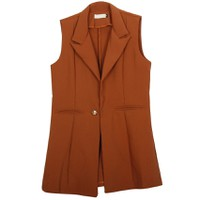 Áo khoác vest blazer nữ form dài sát nách ZENKO CS3 004 CA