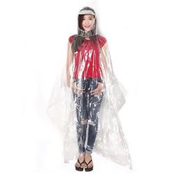 Áo mưa nhựa vi sinh trong suốt