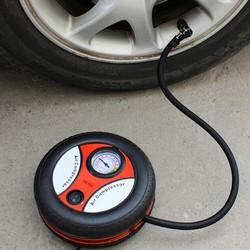 Máy bơm lốp xe hơi xe máy có đồng hồ 12 Loại tốt