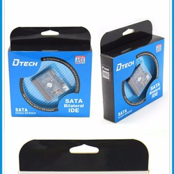 Card chuyển đổi IDE to SATA 2 chiều Dtech DT-8008