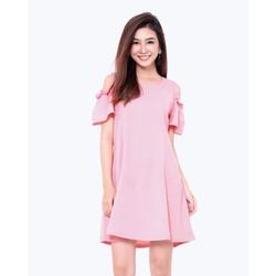 Đầm oversize rớt vai - Có 3 màu lựa chọn