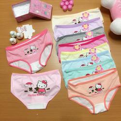 C1603 - Combo 5 quần lót nữ họa tiết Hello Kitty cực dễ thương