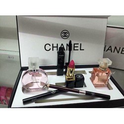 Bộ 2 nước hoa Chanel tặng kèm son