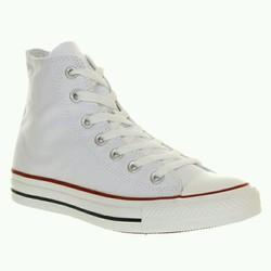 Giày sneaker nữ cao cổ - Màu trắng