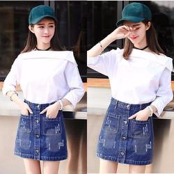 Chân Váy Jean Thời Trang