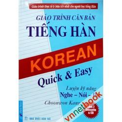 Sách Giáo trình tiếng Hàn căn bản