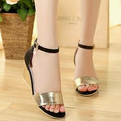 Giày mọi viền chữ thời trang cao cấp