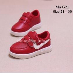 Giày thể thao cho bé gái năng động và cá tính G21 đỏ