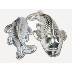 Bộ 2 khuôn cá chép làm bánh trung thu chất liệu nhôm cao cấp