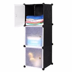 Tủ lắp ráp 3 ngăn cao cấp tự thiết kế Dhome 3102