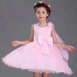 Đầm công chúa kim sa hoa hồng