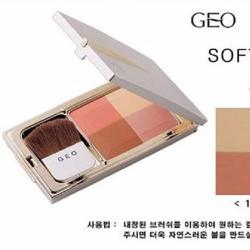 Phấn má 4 màu GEO Soft Color Face Touch
