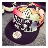 NÓN SNAPBACK NEW YORK YANKEES Mã: CK0236 - ĐỎ