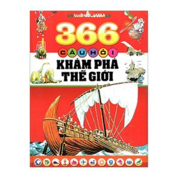 Sách- 366 Câu hỏi khám phá thế giới