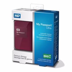 Ổ CỨNG DI ĐỘNG WESTERN PASSPORT WD ULTRA 500GB