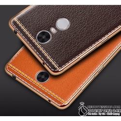 Ốp lưng dẻo vân da cho Xiaomi Redmi Note 3