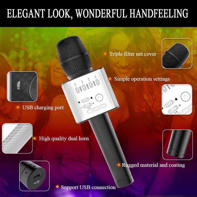 Micro kiêm loa hát karaoke cao cấp Q9 4