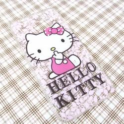 Ốp lưng Samsung-Galaxy S6 Edge Hello Kitty đáng yêu