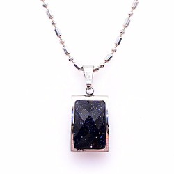 Dây chuyền mặt đá Sapphire may mắn THE OXFORD 6722