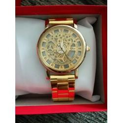 đồng hồ nam dây thép giả cơ màu sắc đẹp sang trọng