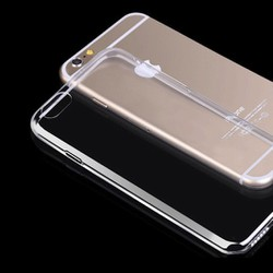 Combo 4 ốp lưng iPhone 6 silicon trong suốt
