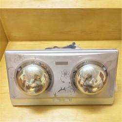 Đèn sưởi nhà tắm loại 2 bóng vàng OSK - F534.