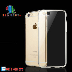 Combo 4 ốp lưng iPhone 6 Plus silicon trong suốt
