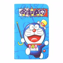 Bao da Samsung Galaxy Tab 3 Lite T110 hình Doraemon đáng yêu mẫu 4
